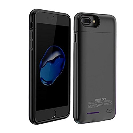 quality design f9202 57675 4200Mah Battery Charger Case For Both iPhone7Plus and iPhone 6(S) Plus 5.5