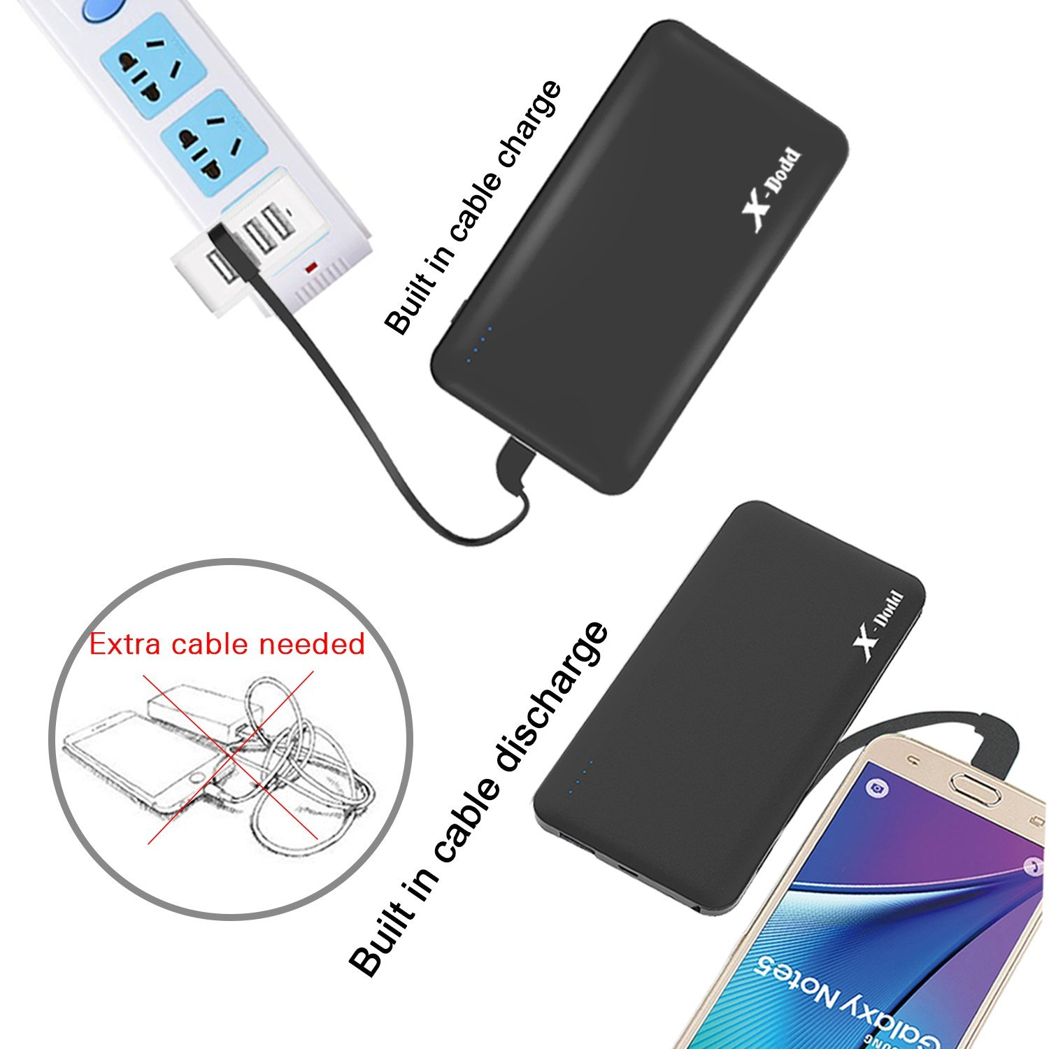 how to charge external battery pack