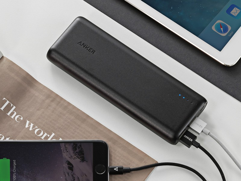 design anker powercore 15600