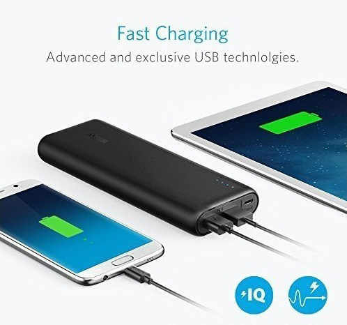 excellent charging speed anker powercore 15600