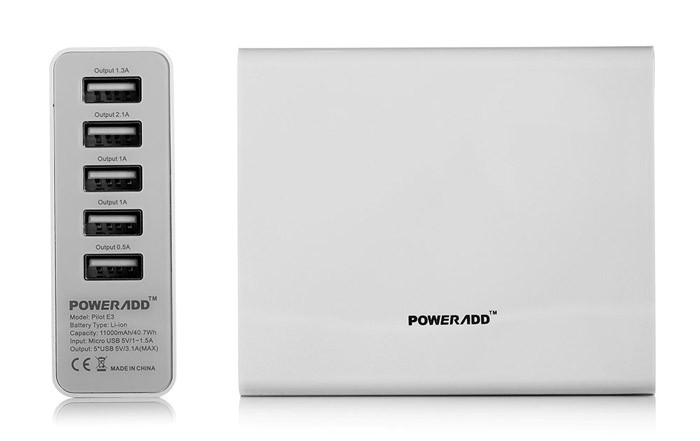 power bank number of ports